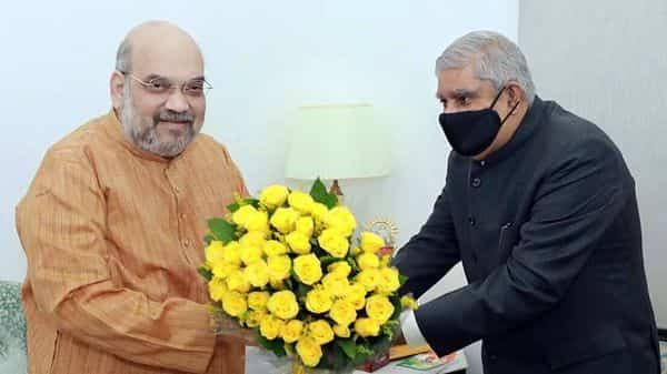 governor will met Amit Shah again Today.