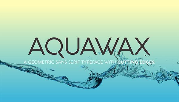 Download 22 Font Terbaru Gratis Edisi Mei 2016 - Aquawax Free Font