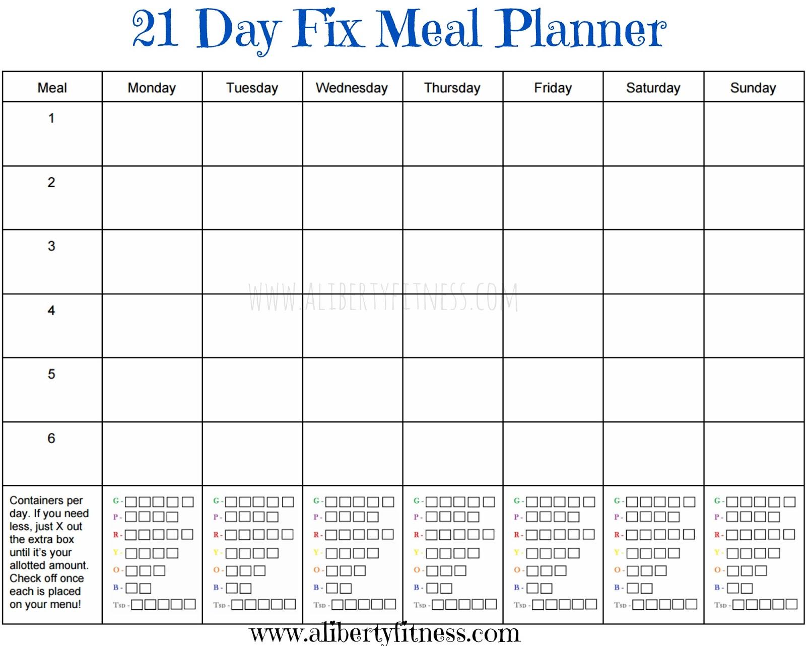 Blank Planning Calendar