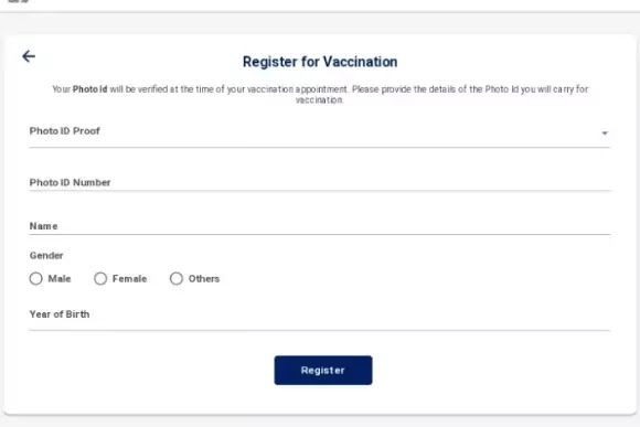 Vaccine Registration in maharashtra