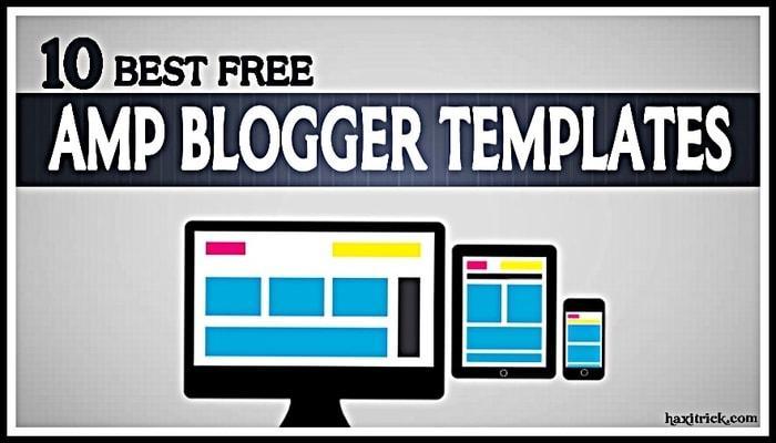 amp blogger templates Seo Friendly