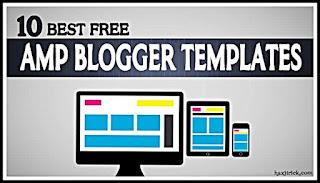 best free amp blogger templates