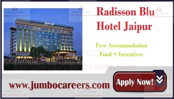 Jaipur hotel jobs with salary,