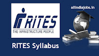 RITES Engineer Syllabus