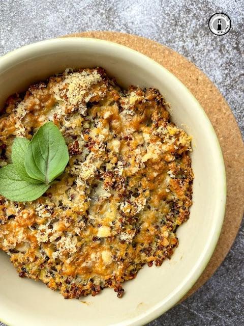 Gratin de quinoa aux courgettes IG bas - Recette facile