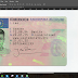 Germany Driver License editable Template Psd