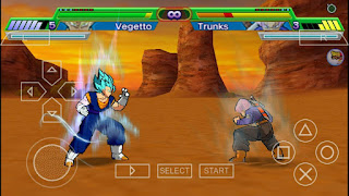 Dragon Ball Z Shin Budokai 5 Game Mod Apk for PPSSPP Updated 2017