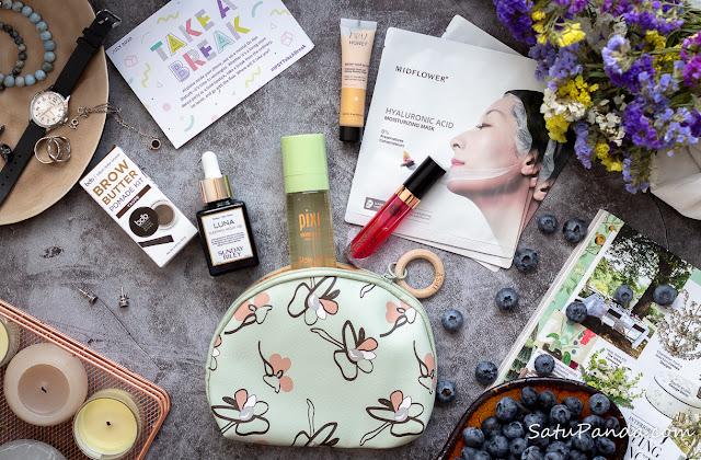 ipsy Glam Bag Plus July 2020 наполнение и отзыв