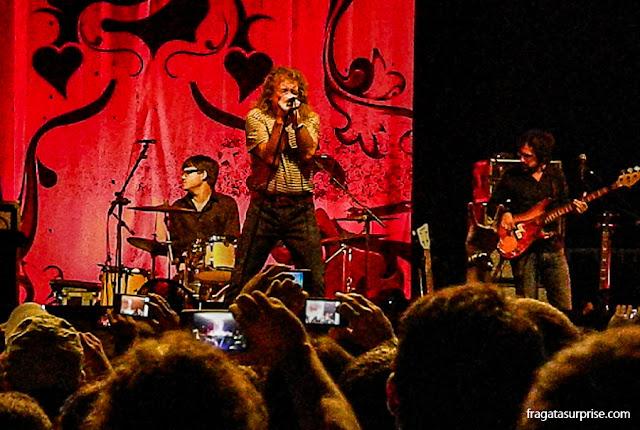 Show de Robert Plant em Brasília, outubro de 2012