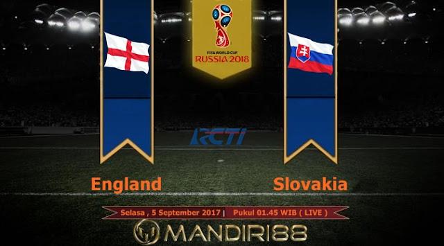 Prediksi Bola : England Vs Slovakia , Selasa 05 September 2017 Pukul 01.45 WIB @ RCTI