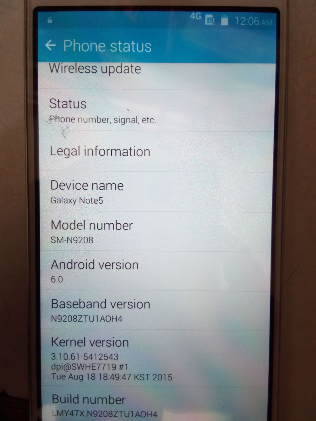 Samsung Note 5 Firmware Download