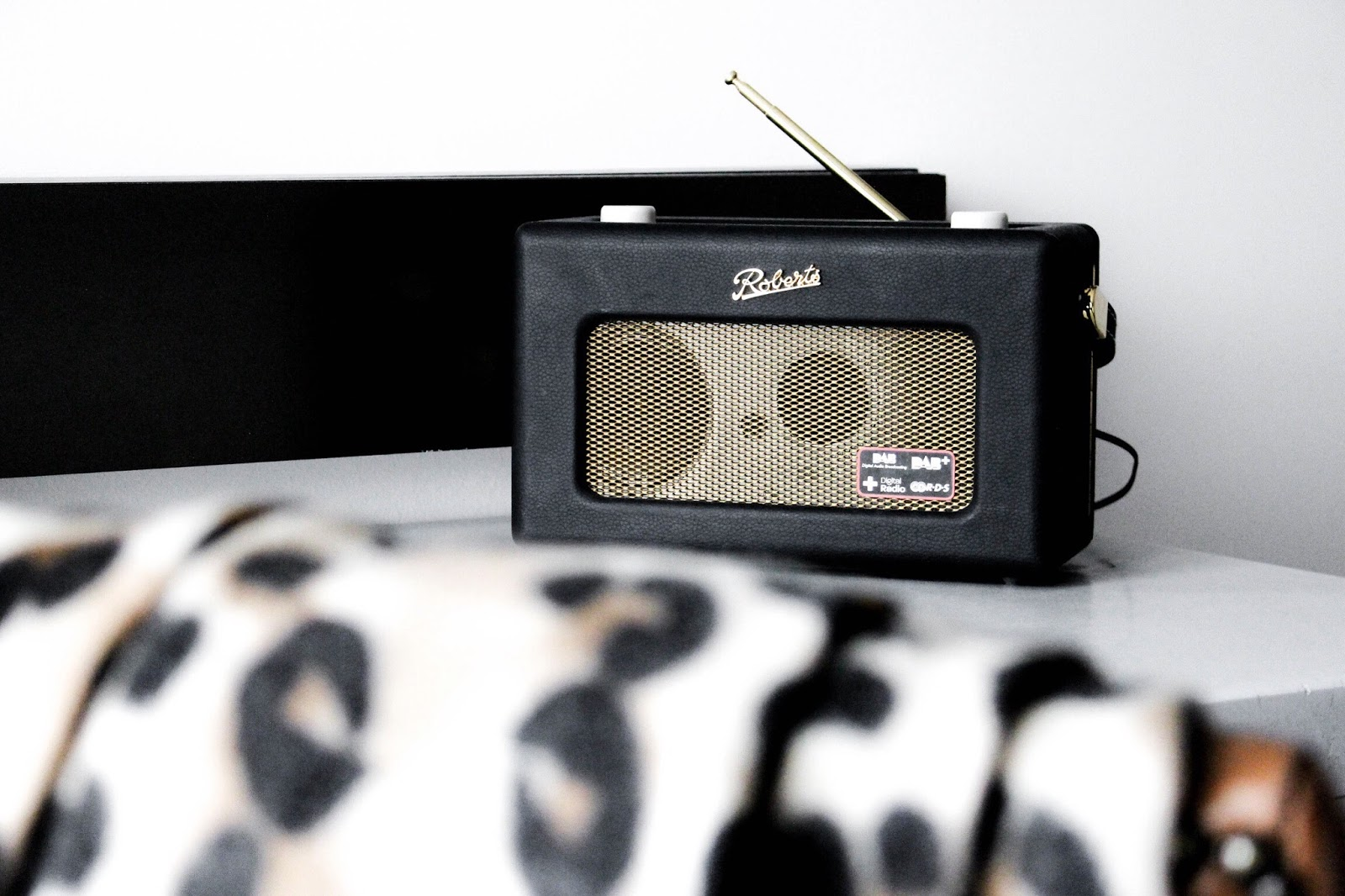 Roberts Revival DAB Black Radio