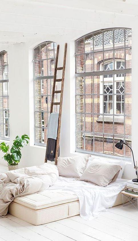 industrial bedroom decor idea