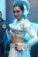 Catherine Tresa in Beautiful emroidery Crop Top Choli and Ghagra at Santosham awards 2017 curtain raiser press meet 02.08.2017 083.JPG