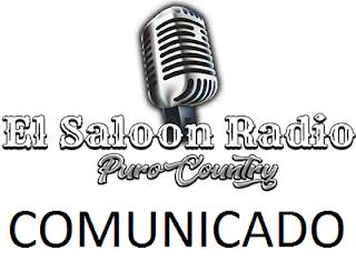 Comunicado de El Saloon Radio a sus oyentes. Cierre definitivo.