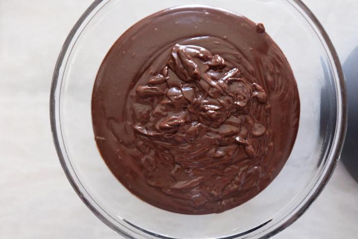 finished cocoa pudding