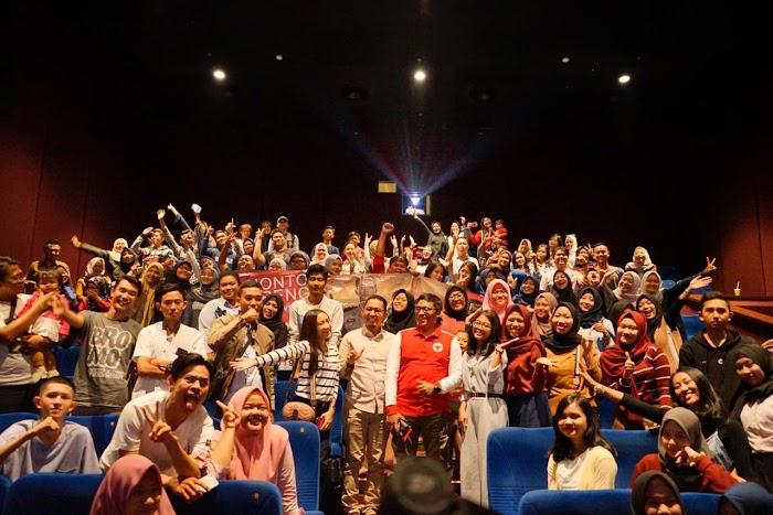 Ajak Nobar Film Sang Prawira, Wiyadi Aminkan jadi Walikota