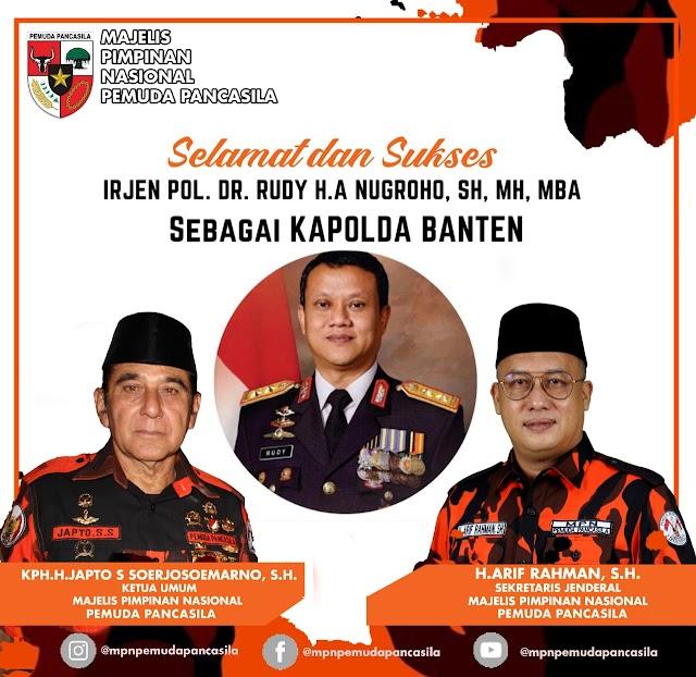 12 Program Kapolda Banten, Pimpinan Nasional Pemuda Pancasila Berikan Apresiasi Kepada Kapolda