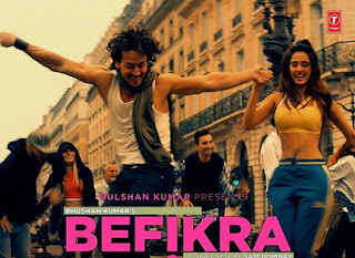Latest song of Bollywood by MEET BROS,ADITI SINGH SHARMA  Tiger Shroff, Disha Patani. Mashup mixes Remixes HD Song Befikra in Bollywood. Download mp3 Song Befikra . Download Befikra full Song Videos Downloads mp3 Mp4 AVI FLV HD videos Lyrics of Song Befikra