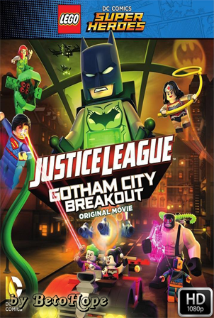 Lego DC Comics Superheroes: Justice League – Gotham City Breakout [2016] [Latino-Ingles] HD 1080P [Google Drive] GloboTV