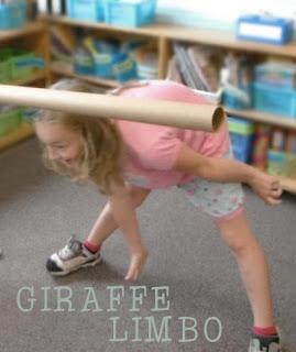 Juegos sobre los animales salvajes: Giraffe Limbo