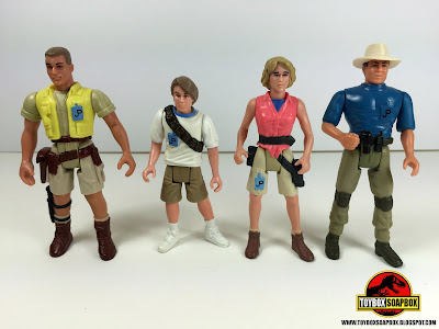 jurassic park action figures by kenner