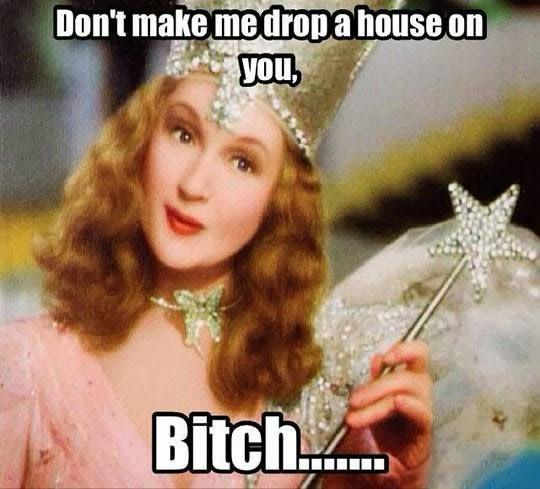 Don't make me drop a house on you Wizard of Oz randommusings.filminspector.com