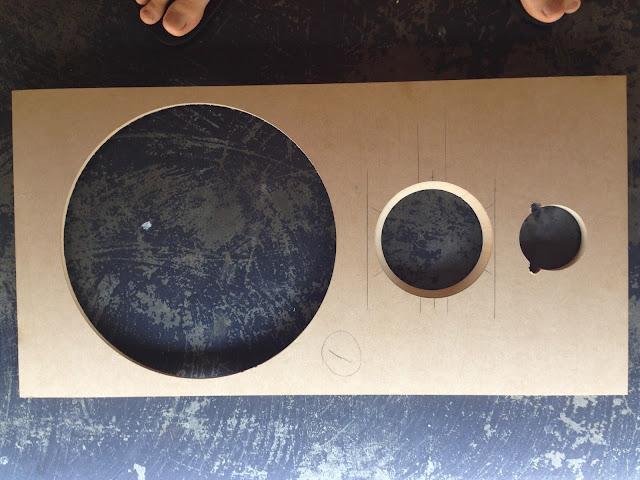 DIY Bafflle speaker