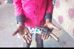Cultist Caught With A local Gun In Anambara, He Was Caught With This Method
