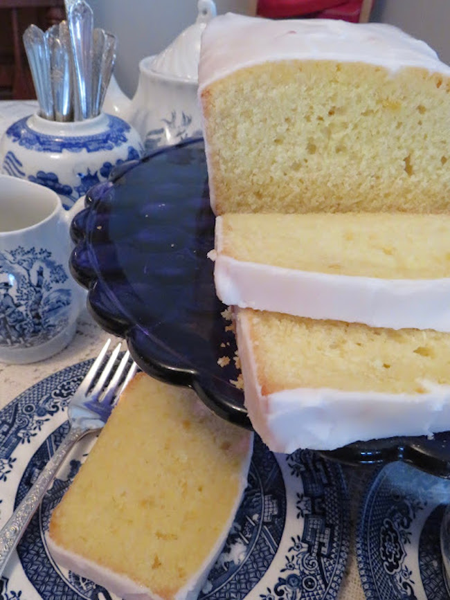 Lemon Loaf by Thel's Kitchen featured at Pieced Pastimes