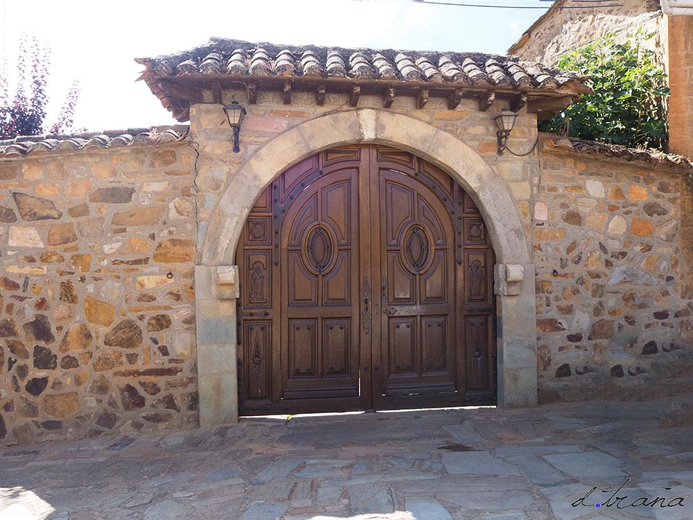 Puertas en Castrillo de los Polvazares