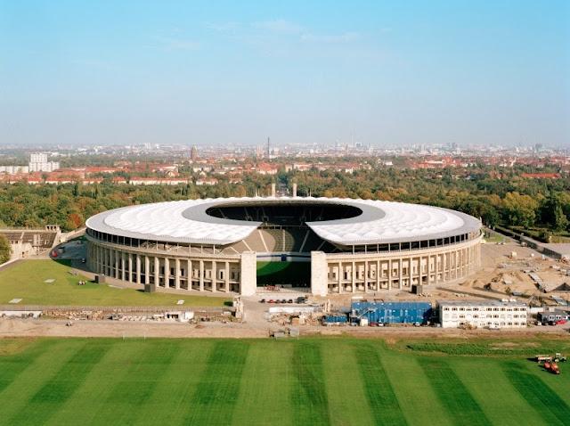 Olympiastadion Berlin from Olympiastadion berlin draußen,