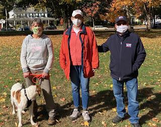(L-R) Melanie Hamblen, Susan Speers, and Rep Jeff Roy