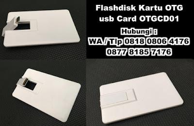 Flashdisk Kartu OTG, USB KARTU OTG - OTGCD01, USB Flashdrive OTG, hybrid OTG