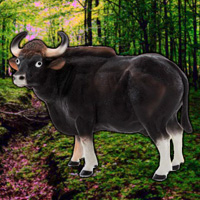 WowEscape Save The Gaur …