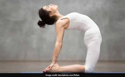 5. Pawanmuktasana (Wind Relieving Pose)