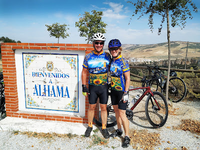 Visit Alhama de Granada on our Cycling Country Bike AndalucianTour
