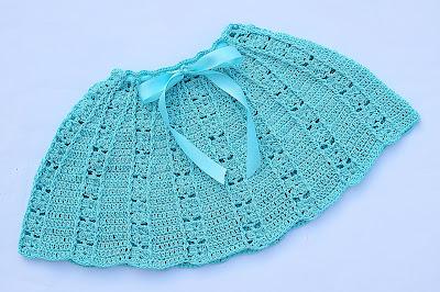 5 - Crochet Imagen Falda a conjunto con blusa veraniega a crochet y ganchillo por Majovel Crochet