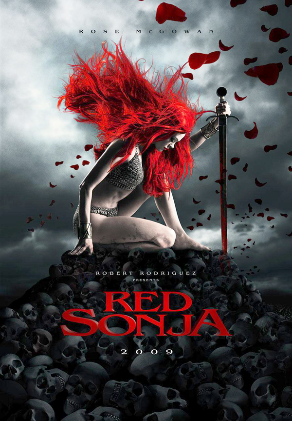 Rose McGowan es Red Sonja
