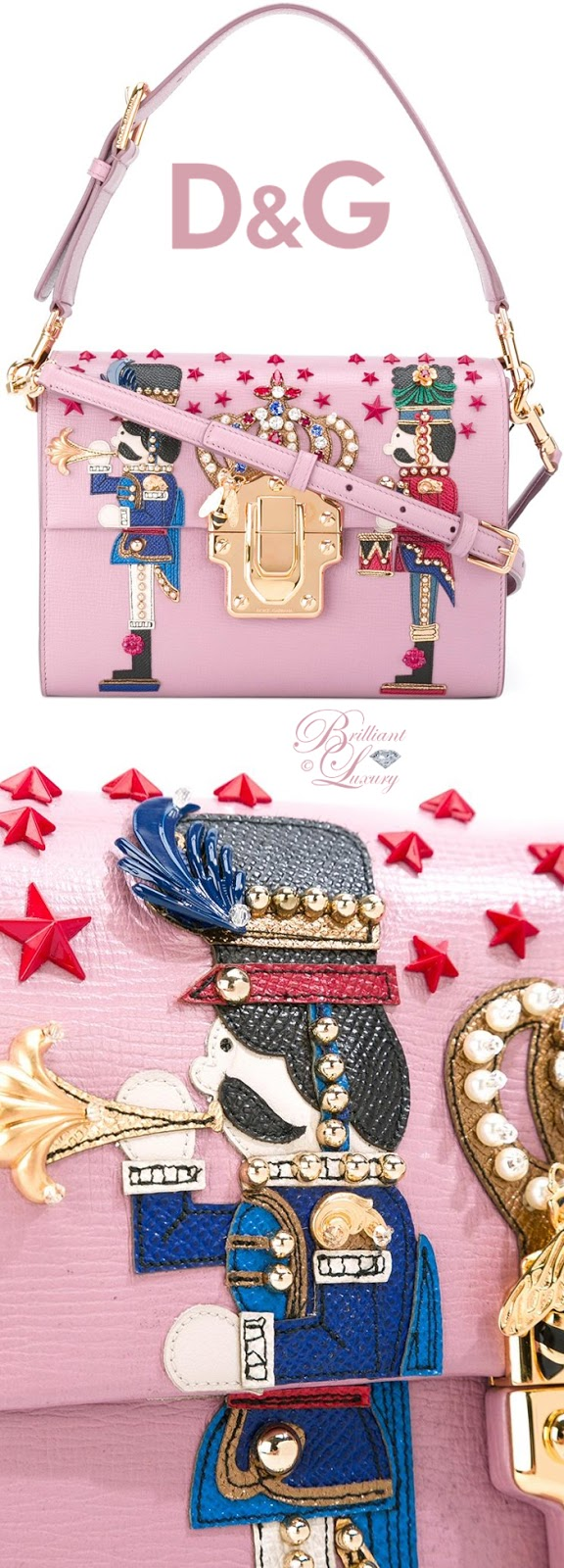 Brilliant Luxury ♦ Dolce & Gabbana Lucia Shoulder Bag