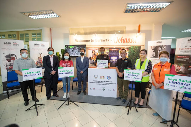 Sarawak Flags Reopening Prospects, Sarawak Tourism, Industrial COVID-19 Vaccination Programme, Travel