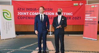 4th Round of 'Indo-Danish Joint Commission Meeting (JCM)'