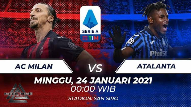 Prediksi AC Milan Vs Atalanta