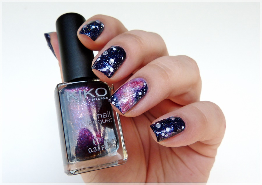 dark galaxy Nails Design