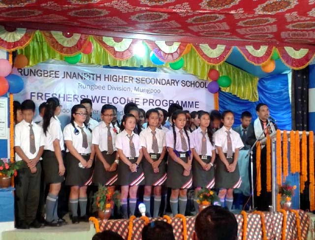 Rungbee Jnanpith High School mungpoo