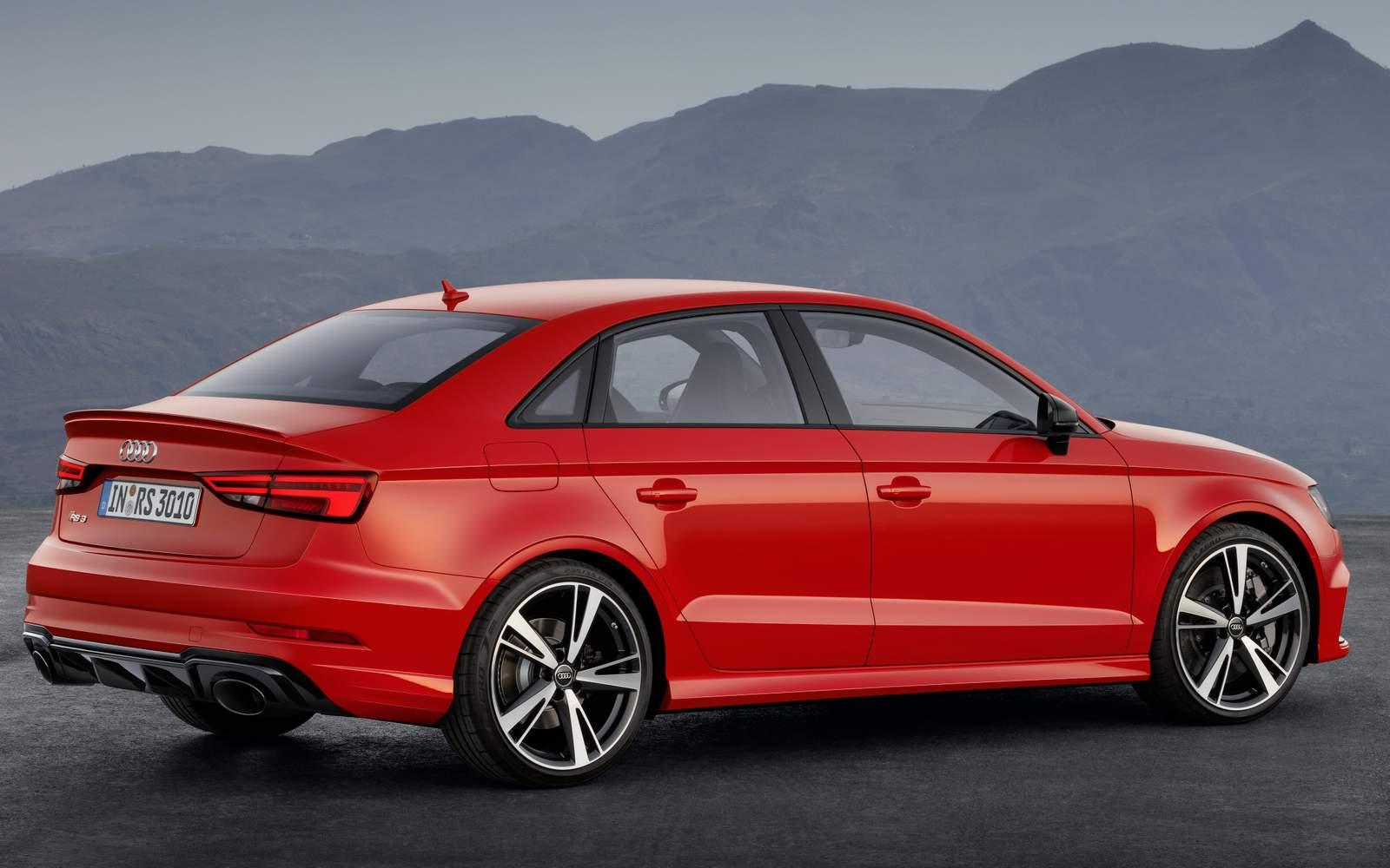 Brilliant Novo Audi RS3 Sedan 2017 Vdeo Fotos E Especificaes  CARBLOG