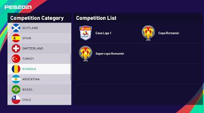 Romania league pes21 sp21
