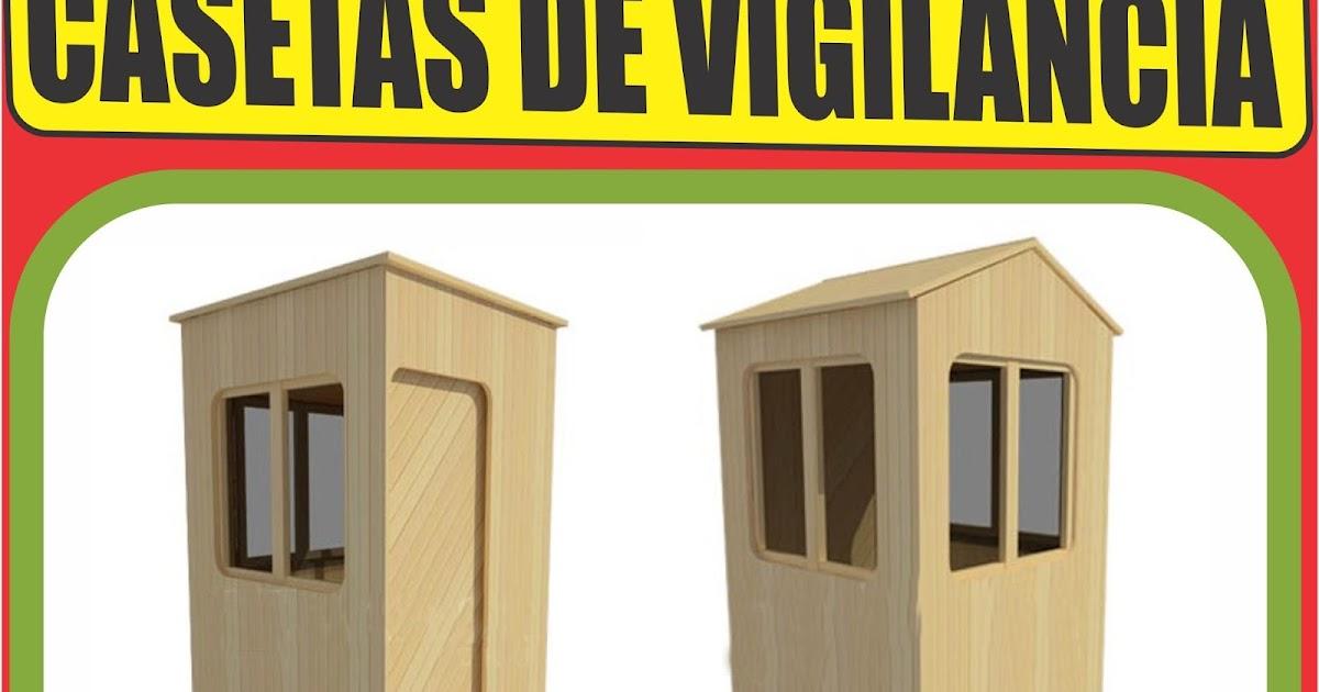 Casetas prefabricadas para seguridad y vigilancia packhogar - Feria de casas prefabricadas ...