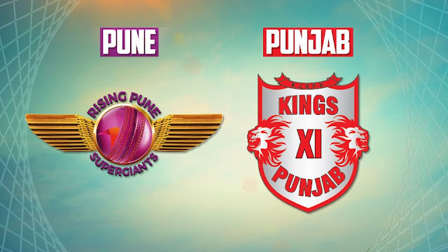Kings XI Punjab vs Rising Pune Supergiants Match Predication, live score updates