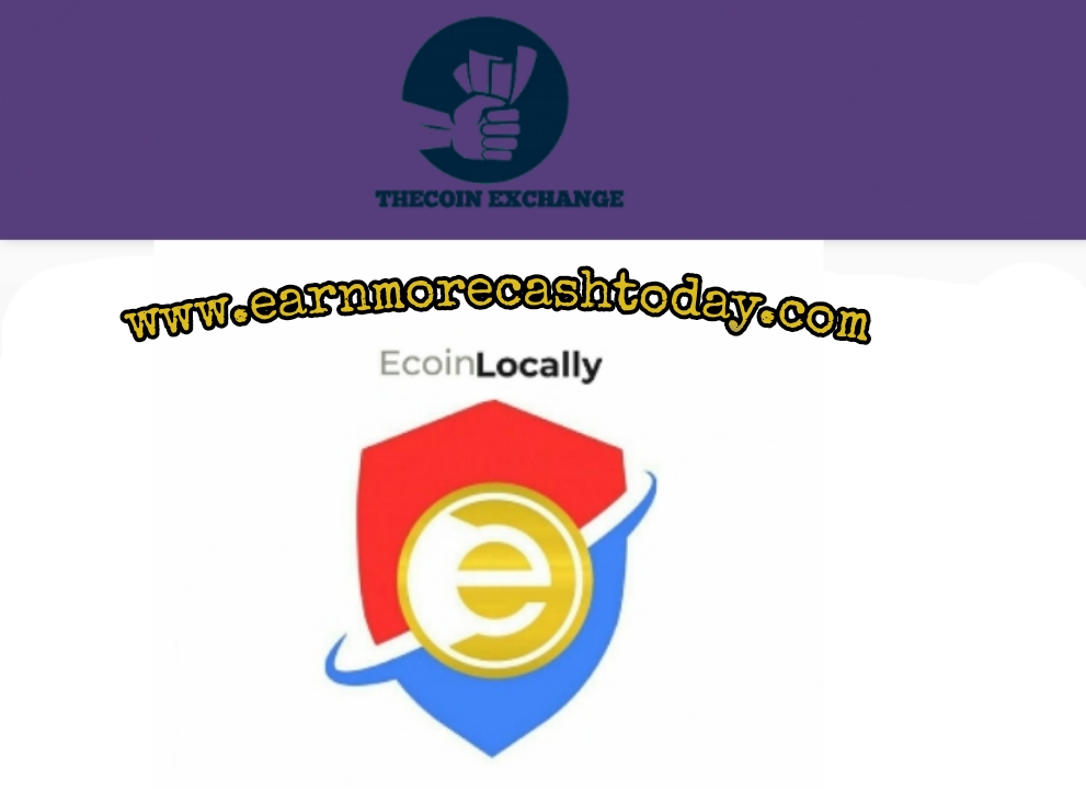 How To Buy And sell Your Ecoins On Ecoin Locally   The Coin.EExchange